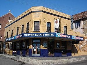 Rozelle - Image: Merton Estate Rozelle 1