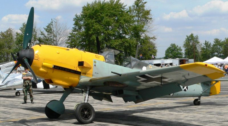 Bf 109E-4li Air Force.[