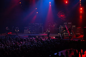 Entombed (band) - Entombed during Metalmania festival in Katowice, Poland in 2007