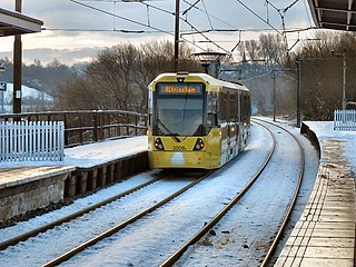 Bury Line line of the Manchester Metrolink