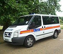 5146bdd5eaff94 Ford Tourneo with Metropolitan Police