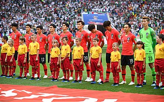 South Korea national football team - South Korea national team at the 2018 FIFA World Cup in Russia
