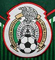 Mexican Federation of Football Patch on Counterfeit T-Shirt (13912210414).jpg
