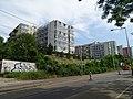 Michle, U plynárny, rekonstrukce TT, paneláky v ulici V dolině.jpg