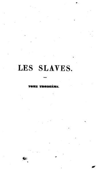 File:Mickiewicz - Les Slaves, tome 3.djvu
