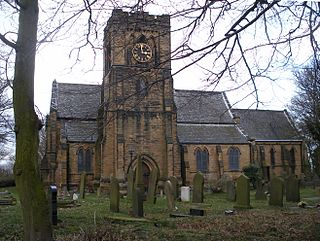 St Mary the Virgins Church, Middleton Church in West Yorkshire, England