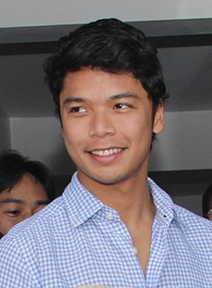 Miguel Luis Villafuerte Filipino model and politician