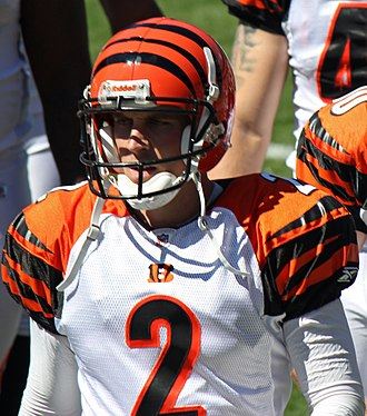 Mike Nugent - Nugent with the Bengals in 2011