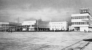 Linate Airport - Linate airport in the 1930s
