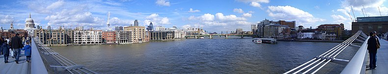 Vista dal ponte