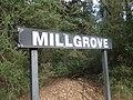 Millgrove railway station Victoria station sign.jpg