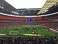 Millwall pitch invasion at Wembley, May 2017.jpg
