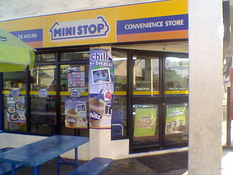 Ministop - A Ministop store in Angeles City, Philippines