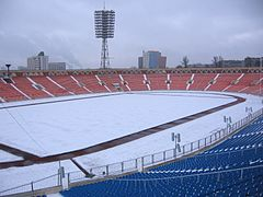 Minsk Dynamo stadium field covered with snow 2007-03-03.jpg