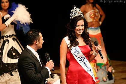 foto candidatas nicaragua 2007: