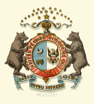 Seal of Missouri - Historical coat of arms (1876)
