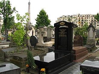 Passy Cemetery - Image: Mo cuu hoang Bao Dai