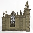 Model Of A Walled Entrance With Gate (Italy), ca. 1710 (CH 18214745-2).jpg