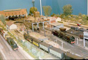 Modelisme-ferroviaire-echangeur