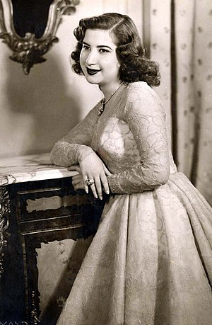 Narriman Sadek - Narriman days before her wedding ceremony, which took place in Abdeen Palace on 6 May 1951.