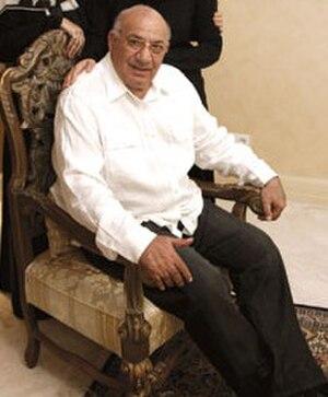 Heshmat Mohajerani - Mohajerani in 2006 in his house in Tehran