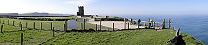 O'Brien's Tower - Image: Moher O Briens Tower Fenced In 2012