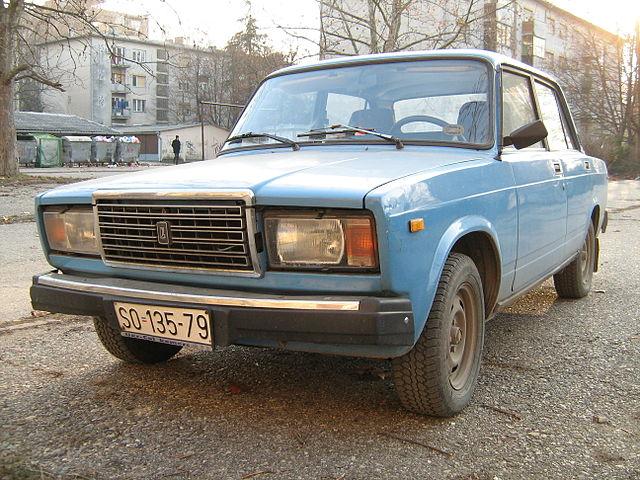 Moja Lada 2107 1987 godište