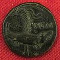 Monetiere di fi, moneta romana imperiale da zecca di nemausus (nimes).JPG