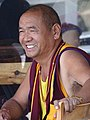 Monk in Cafe - McLeod Ganj - Himachal Pradesh - India (26169420944).jpg