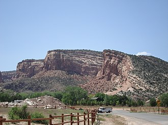 Monocline - Monocline at Colorado National Monument