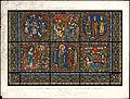 Monografie de la Cathedrale de Chartres - Atlas - Vitrail de la vie de Jesus Christ Feuille A - Chromo-lithographie.jpg