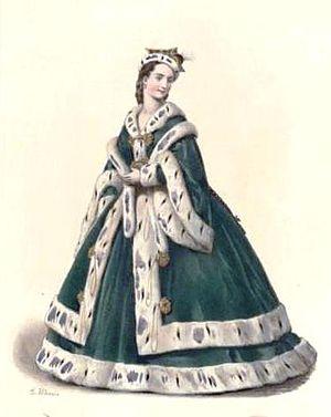 La circassienne - Mademoiselle Monrose as Olga