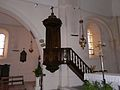 Montagnac-la-Crempse église chaire.JPG
