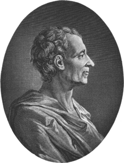 Charles Louis de Secondat, Baron de Montesquieu