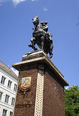 statue équestre de Guillaume III d'Orange-Nassau