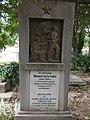 Monument to Major Istvan Aranyos (sandor Konrad), Alsovaros Cemetery, 2016 Szekszard.jpg