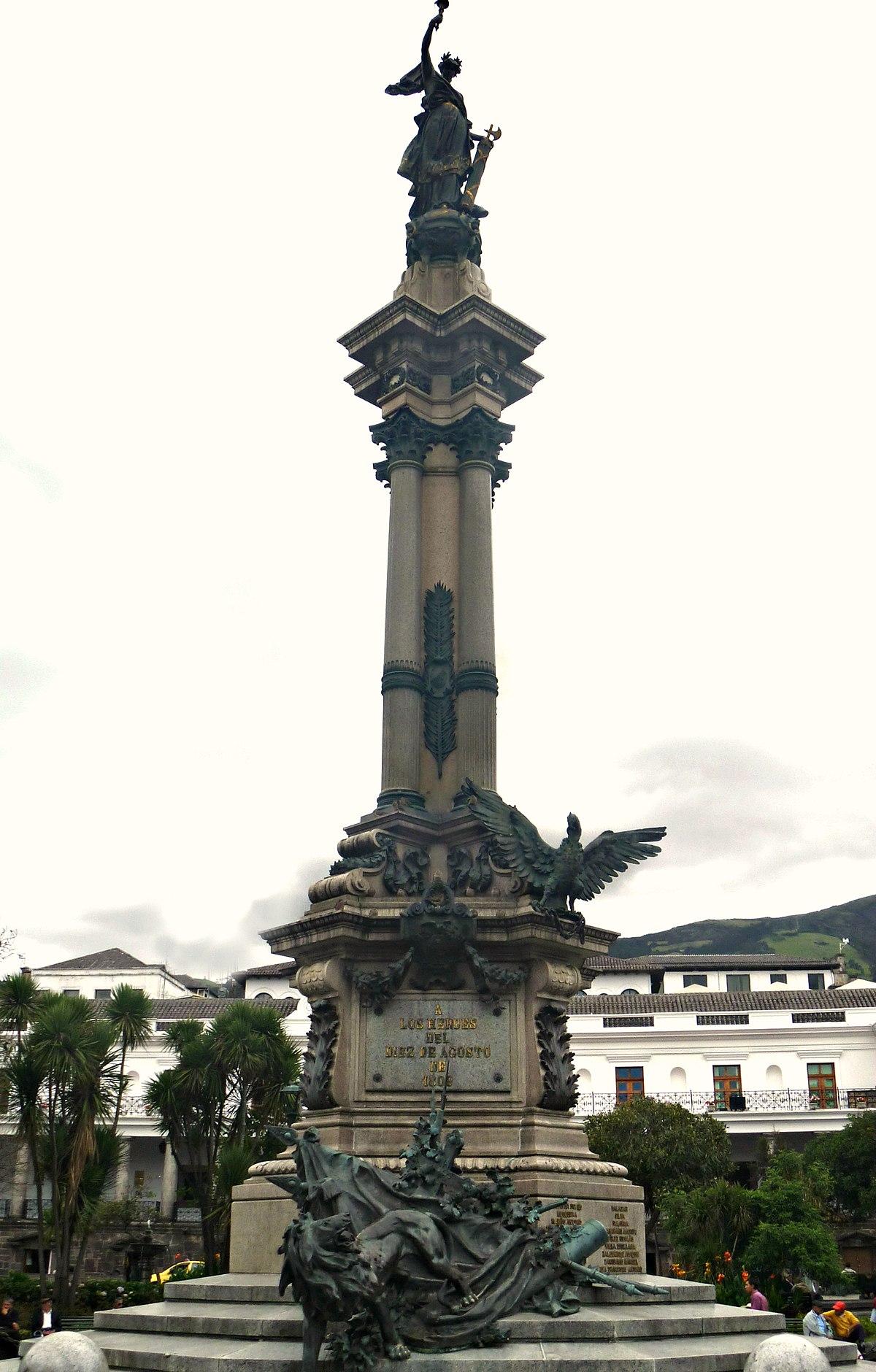 Monumento a la Independencia (Quito) - Wikipedia, la enciclopedia libre