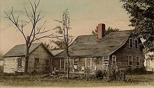 Pownal, Vermont - The Mooar-Wright House in 1909
