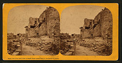 Moqui, one of the seven Aztec or Moquis Pablas (Pueblo) Indian cities of the deserts of Arizona, by C. W. Carter.jpg