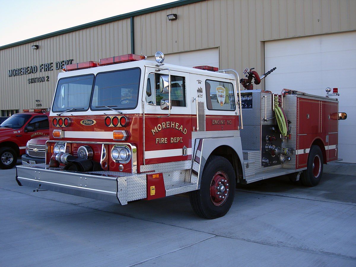 Px Morehead Fd Engine Pierce Hendrickson