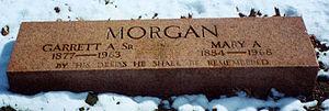 Garrett Morgan - Grave of Garrett A. Morgan