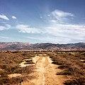 Moroccan Desert Road.JPG
