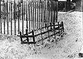 Mortsafe in Towie churchyard, Aberdeenshire. Wellcome L0012142EB.jpg