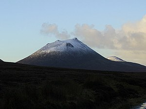Morven, Caithness - Morven seen from the northeast