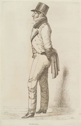 Moses Montefiore - Portrait of Moses Montefiore, 1818
