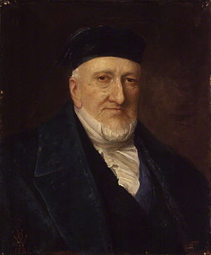 Moses Montefiore - Sir Moses Montefiore painted in 1881