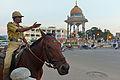 Mounted policeman, KR Circle, Mysore.jpg