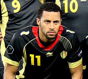 Mousa Dembélé (Belgian footballer) - Dembélé with Belgium in 2011