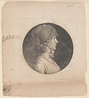 Mrs. David Meade Randolph, head-and-shoulders portrait, right profile LCCN2007677865.jpg