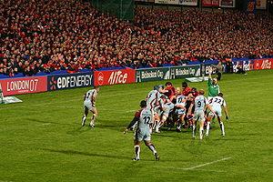 CS Bourgoin-Jallieu - Bougoin playing Munster in Limerick.